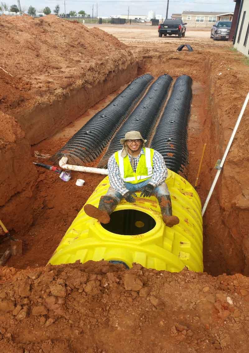 Major Underground Plumbing