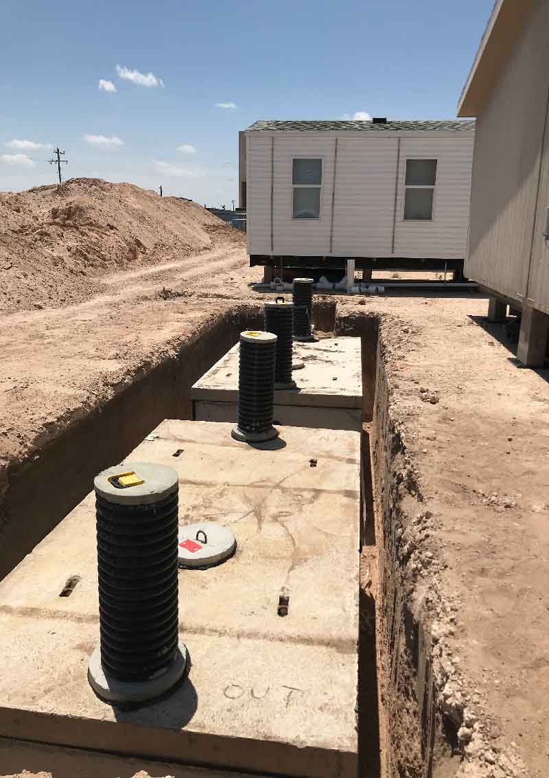 Complete Sewer Installation